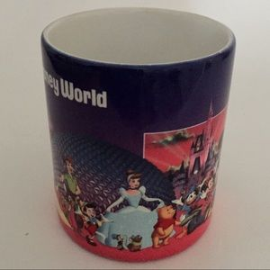 Disney Kitchen - Vintage Walt Disney World Grandma Mug Characters